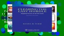 Full E-book  Clearing the Last Hurdle: Mapping Success on the Bar Exam (Academic Success)  Best
