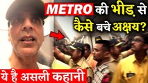 How No One Recognized Akshay Kumar in Mumbai Metro This Is The Real Story!
