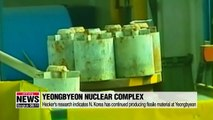 """""""Tailored sanctions relief"""" and cooperation vital steps to N. Korea's denuclearization: U.S. nuclear expert"""