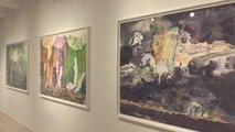 Spaniard's Japanese firework art illuminates New York gallery