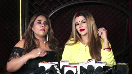 Rakhi Sawant REACTS On Her Transparent Dress Controversy At Chappan Churi Song Launch