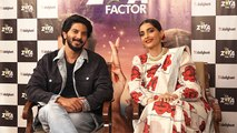 Sonam Kapoor and Dulquer Salmaan reveal interesting things of The Zoya Factor | FilmiBeat