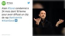 L'essayiste Alain Soral condamné à 18 mois de prison ferme pour un clip de rap antisémite