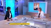 Emmanuel Macron se confie au magazine Time