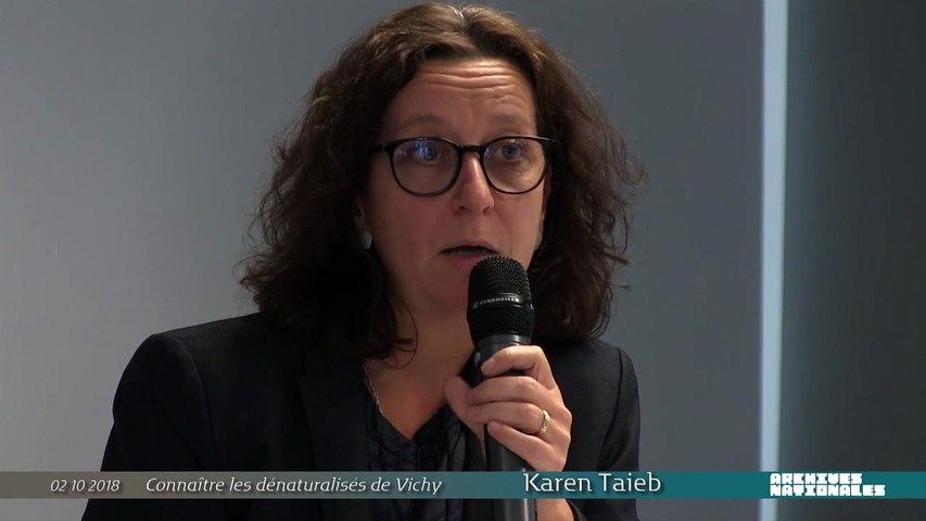 Les dossiers de dénaturalisation, nouvelle source pour l'histoire de la déportation en France