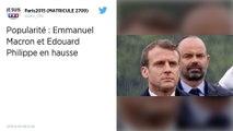 Les cotes de popularité d'Emmanuel Macron et Édouard Philippe en hausse.