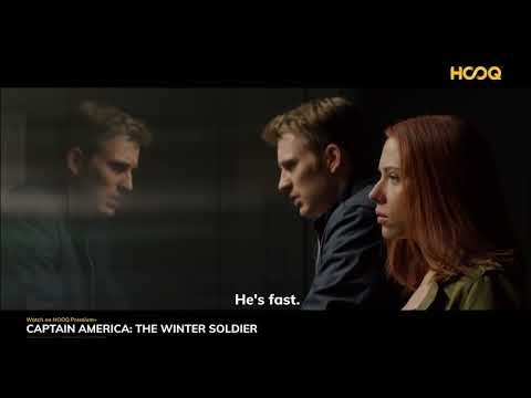 Captain America: The Winter Soldier - Available on HOOQ Premium+