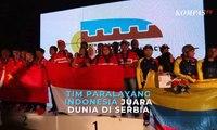 Mantap! Tim Paralayang Indonesia Juara Dunia di Serbia