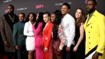 """Cast of """"Bigger"""" BET+ Launch Party Red Carpet"""