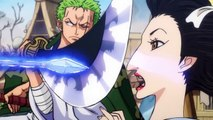 Luffy And Zoro Vs Kaido Pirates (Gifters) - One Piece Ep 900