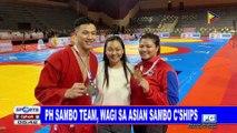 PH sambo team, wagi sa Asian Sambo Championships