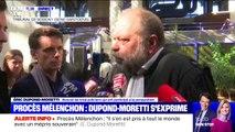 """Éric Dupond-Moretti sur le procès Mélenchon: """"On est chez les fous"""""""