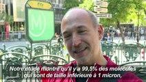 Une association alerte sur la pollution dans le métro parisien