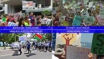 À Sydney, Hong Kong ou Bangkok, les premières images de la grève mondiale pour le climat