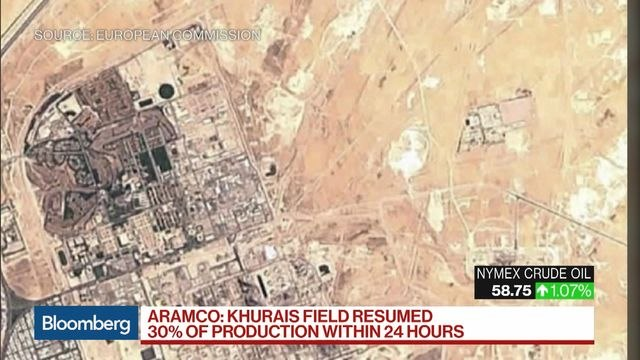 Aramco: Khurais Oil Field Resumed 30% of Output 24 Hours After Attack