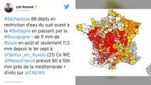 Sécheresse : 88 départements français en alerte