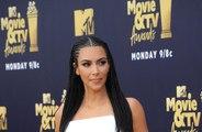 Kim Kardashian West insistiu em fazer as unhas antes de dar à luz a sua primeira filha