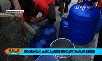 Krisis Air Bersih, Warga Aceh Antre Mendapatkan Air Bersih