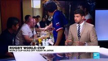Rugby World Cup kicks off today in Japan