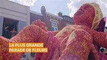 Cette parade néerlandaise met les fleurs à l'honneur