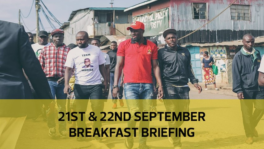 Kibra tribal maths | Ruto and the Coast | KPA on port target: Your Breakfast Briefing