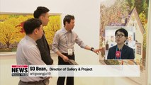 Gwangju int'l art fair providing individual space for artists to show their work