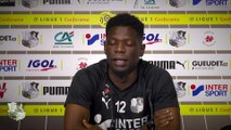 Conférence de presse d'avant Match, Bakaye Dibassy ( FC Metz - Amiens SC )