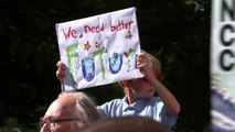 Climate protesters gather in Bristol