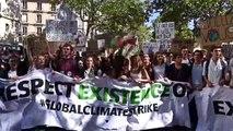 Çevreciler, küresel iklim değişikliği protestoları için sokaklarda