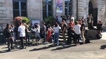Une centaine de jeunes marchent pour le climat