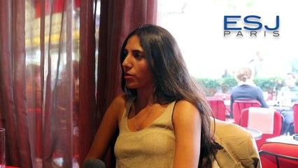 Hiba Yaquot, 23 ans, étudiante en journalisme et en communication à l'ESJ Paris