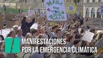 Millones de personas se manifiestan por la emergencia climática