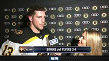 Bruins Top Flyers In Preseason Action, Charlie Coyle Reacts