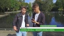 Andrea Bocelli, Shane Richie & Kano!