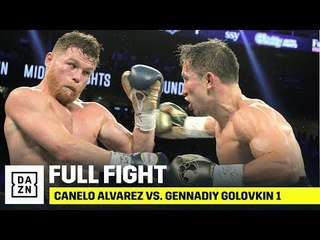 FULL FIGHT   Canelo Alvarez vs. Gennadiy Golovkin 1