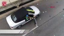 Kiev'deki saldırgan, polis İHA'sını düşürdü