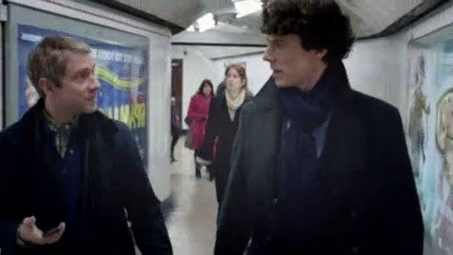 Sherlock Season 3 Episode 1 The Empty Hearse - Part 02