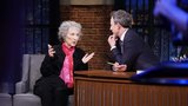 How Margaret Atwood's New Book 'The Testaments' Was Inspired by Trump Election   THR News