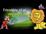 Friendship of an Ant and a lion ||Kids video || kids Story || Moral story