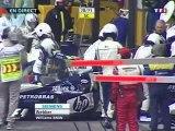 F1 2005_Manche 17_Grande Prêmio do Brasil_Course_5 premiers tours (en français - TF1 - France) [RaceFan96]
