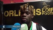 Après Orléans - HAC (2-2), réaction de Jamal Thiaré
