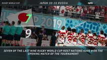 5 Things - Japan's Rugby World Cup hot streak continues