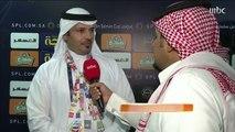 ردود الأفعال بعد فوز الحزم على النصر في دوري كأس الأمير محمد بن سلمان