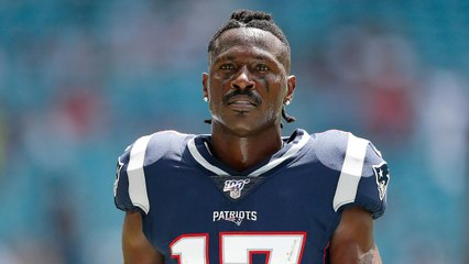 Patriots Release Antonio Brown