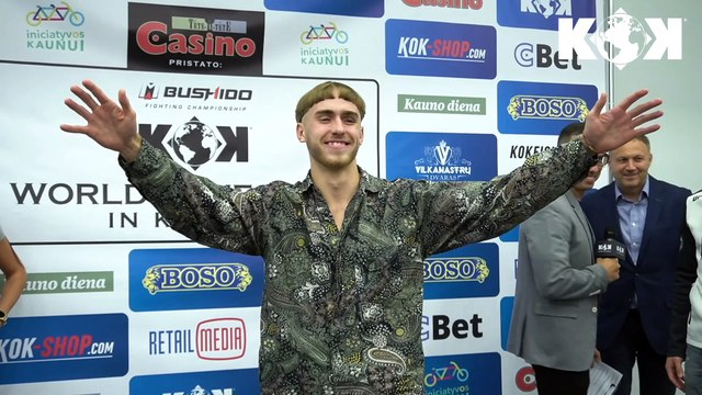 KOK FIGHT SERIES 21.09.2019  IN KAUNAS Press Conference ❗️