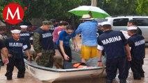 Activan plan marina por tormentas tropicales en BCS