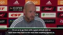 Ten Hag understands importance of PSV rivalry