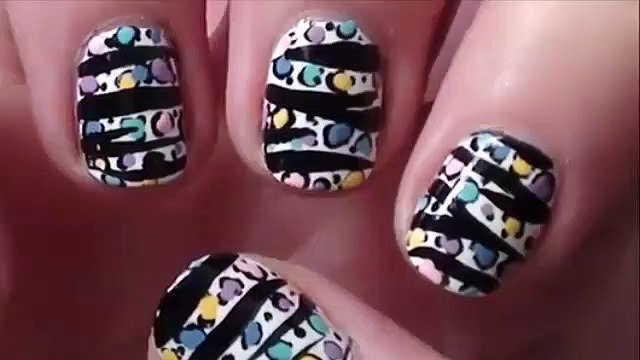 Girls Beauty TOP New Design Nail Paint 2019 The Best Nail Art (4)