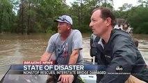 Les images des violentes inondations qui ont touché le Texas après le passage de la tempête tropicale Imelda faisant au moins 2 morts