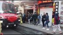 İstanbul-eminönü'nde otelde yangın